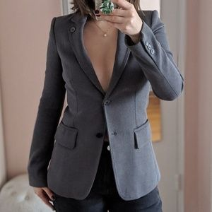 Only Stylish Girls by Patrizia Pepe grey blazer